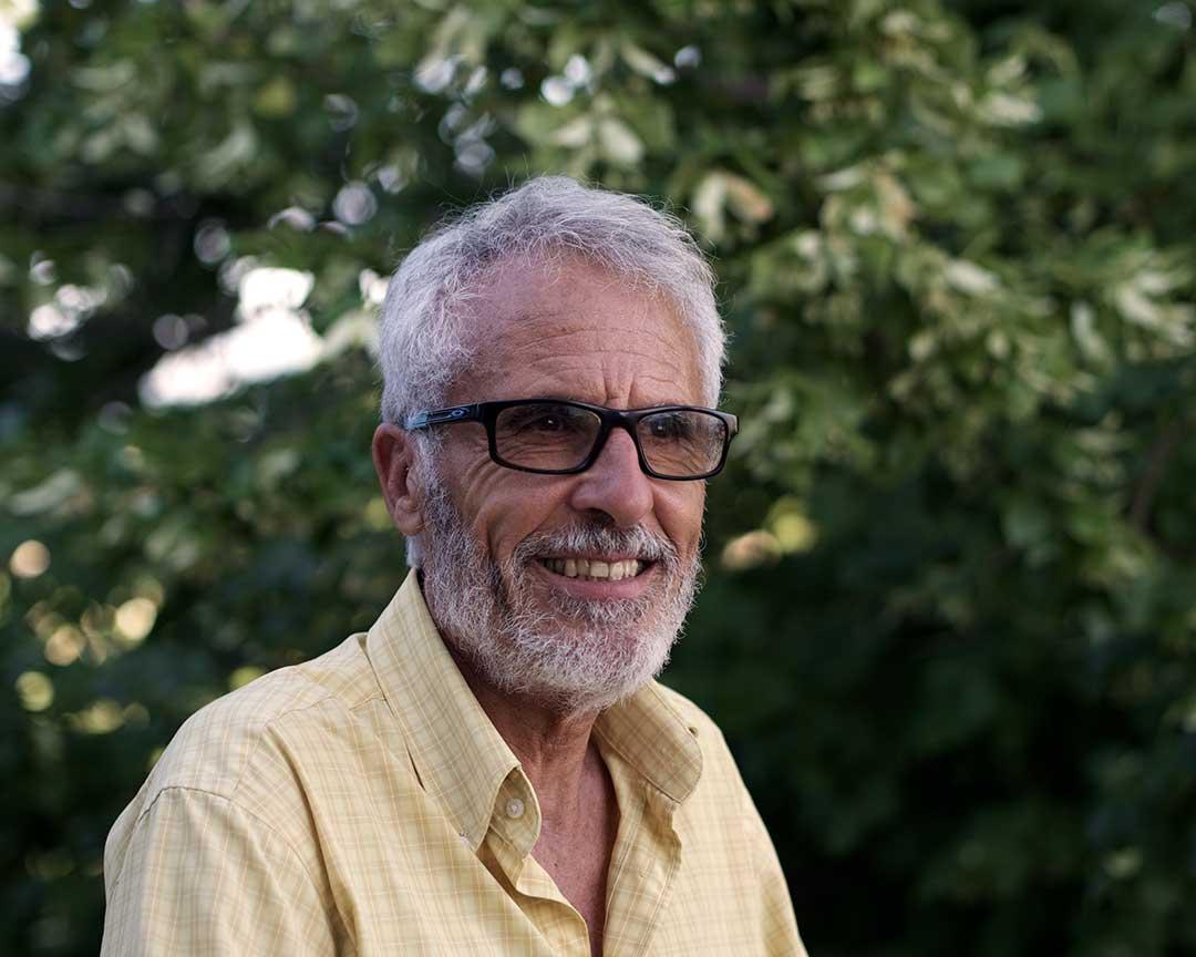 Portrait de Serge Frigerio administrateur de la compagnie les hommes de mains
